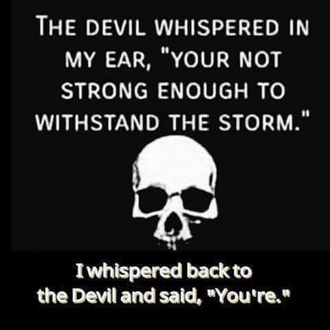 Even the devil needs good grammar